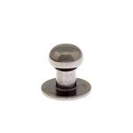 Kruvinupp 7 mm, must nikkel