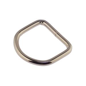 D-aas 32x4 mm, keevitatud, nikkel