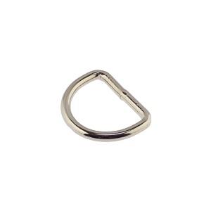 D-aas 20x3 mm, keevitatud, nikkel