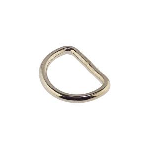 D-aas 24x3,4 mm, keevitatud, nikkel