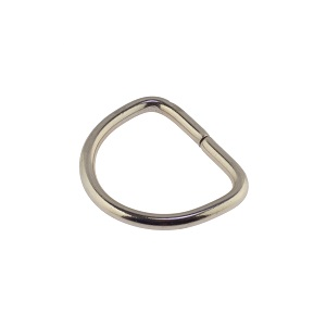 D-aas 25x3 mm, nikkel