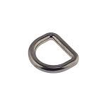 D-aas 20x4,3 mm, tsingisulam/must nikkel