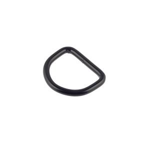D-aas 20x3 mm, keevitatud, matt must