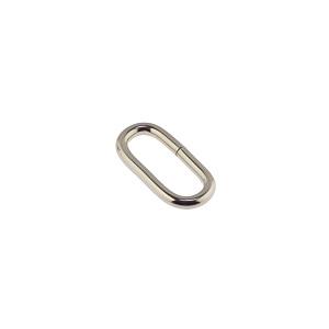 Ovaalne aas 18x2,5 mm, nikkel