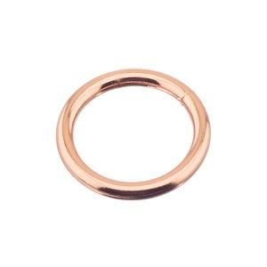Rõngas 25x4 mm, keevitatud, roosa kuld