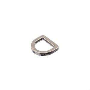 D-aas 10x2,3 mm, kinnine, nikkel
