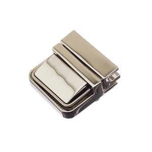 Portfellilukk 34 mm, nikkel