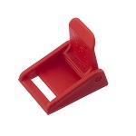 Avatud klapp-pannal 20 mm, punane