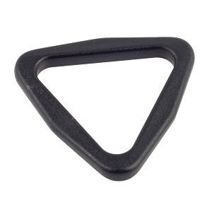 Plastist kolmnurkaas 30 mm, must