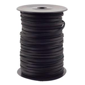 Nahkpael 3,5 mm, must