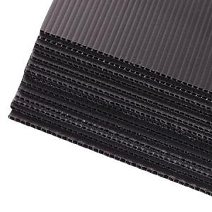 PP kõvendusplaat 6639, 3 mm, must
