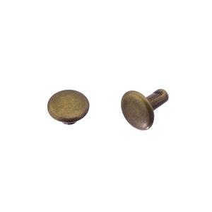 Neet 7x3x7 mm, antiikmessing