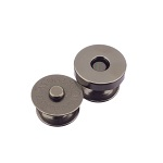 Magnetlukk 14 mm, must nikkel
