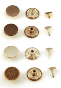 Workwear buttons, jeans buttons