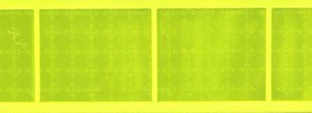 Prismatic reflective, yellow