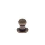 Kruvinupp 5 mm, antiikmessing