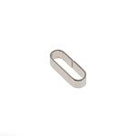 Ovaalne aas 20 mm, nikkel