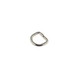 D-aas 10x2 mm, nikkel