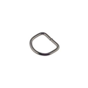 D-aas 16x2 mm, must nikkel