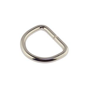 D-aas 25x4 mm, nikkel