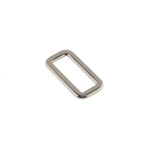 Nelikantaas 20 mm, nikkel