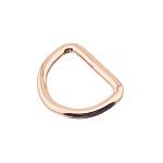 D-aas 25x4 mm, roosa kuld