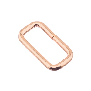 Nelinurkaas 25x3 mm, roosa kuld