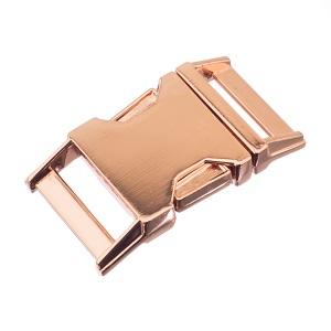 Pistikpannal 25 mm, roosa kuld