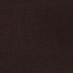 Puuvillane, elastaaniga satiinkangas 10017, tume pruun