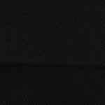 Puuvillane, elastaaniga satiinkangas 9949, must