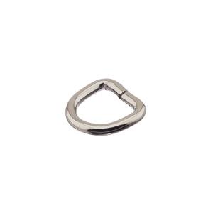 D-aas 12x3 mm, nikkel