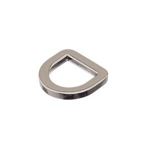 D-aas 15x4 mm, kinnine, nikkel