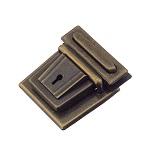Portfellilukk 40 mm, antiikmessing