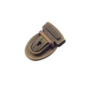 Sahtellukk 24 mm, antiikmessing