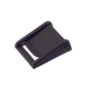 Klapp-pannal 20 mm, sile, must