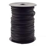 Nahkpael 9886, 3,5 mm, must