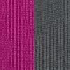 Neopreen 1893, 3 mm, kahepoolse kangaga, roosa/hall