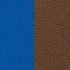 Neopreen 1897, 3 mm, kahepoolse kangaga, helesinine/pruun