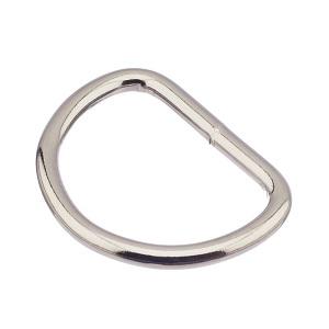D-aas 35x5 mm, keevitatud, nikkel