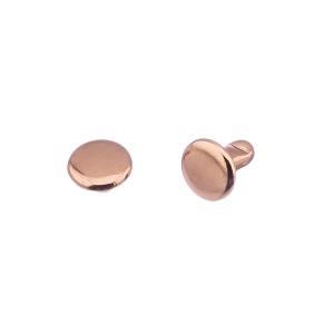 Nahaneet 7x3x7 mm, roosa kuld