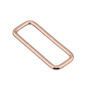 Nelinurkaas 40x3 mm, keevitatud, roosa kuld