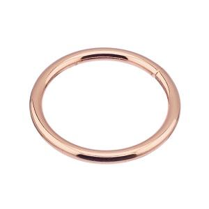 Rõngas 35x4 mm, keevitatud, roosa kuld
